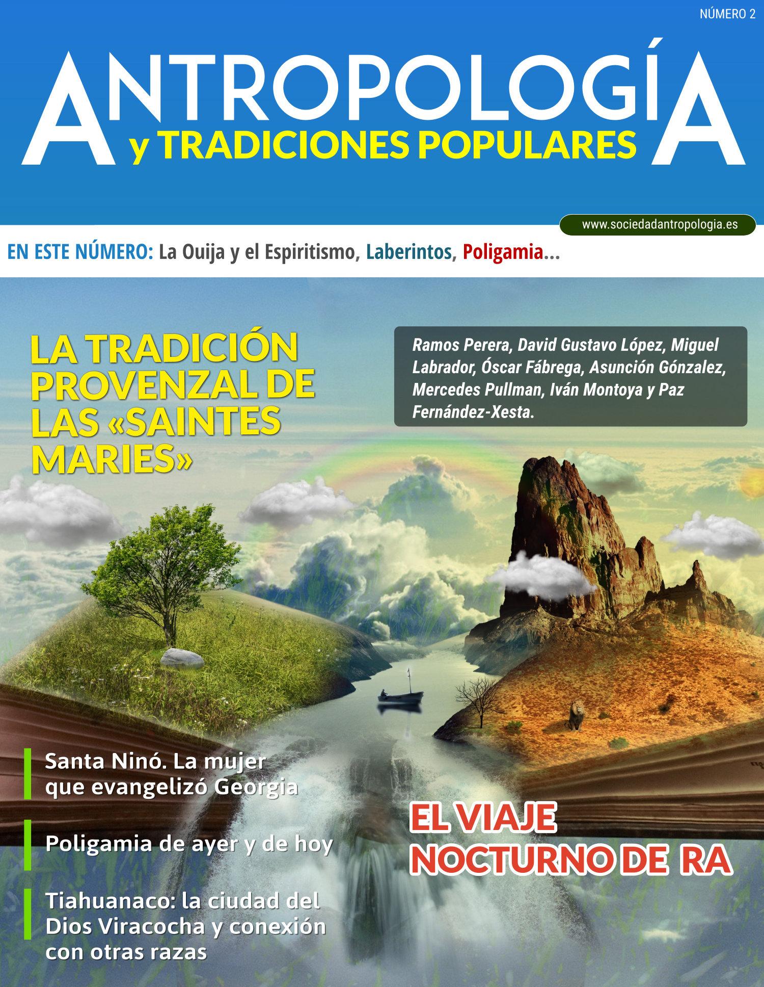 Revista oficial de la Sociedad de Antropología y Tradiciones Populares