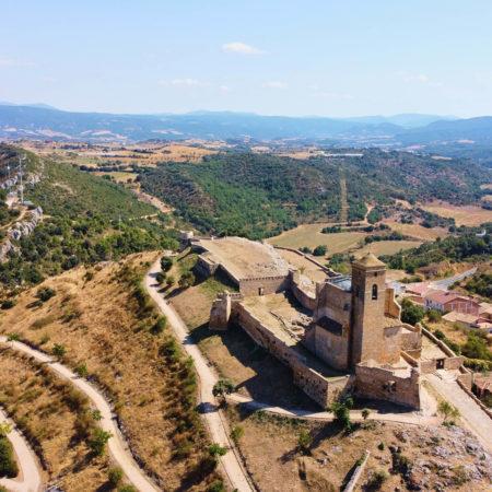 Castillo de Benabarre por Luis González Fraga.