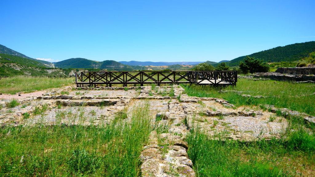 Villa romana Liedena por Luis González Fraga