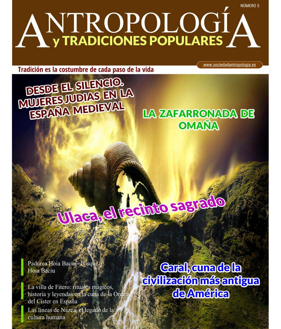 Revista de Antropología y Tradiciones Populares Nº5